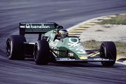 Michele Alboreto, Tyrrell Racing 012 Ford