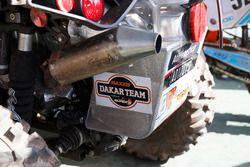 Detail of #267 Barren Racer: Kees Koolen