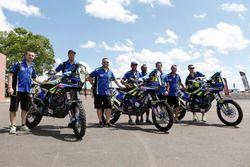 #12 Sherco TVS Racing, Sherco: Juan Pedrero; #77 Sherco TVS Racing, Sherco: Aravind Prabhakar; #26 S