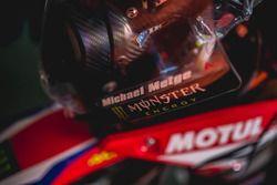 Helm van #15 Monster Energy Honda Team: Michael Metge