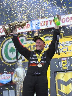 Top Fuel winner Clay Millican