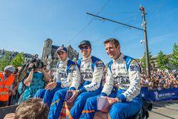 Gustavo Menezes, Romain Dumas, Matt Rao, Signatech Alpine