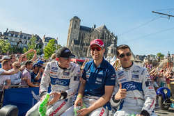 Olivier Pla, Stefan Mücke, Billy Johnson, Ford Chip Ganassi Racing