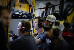 Matt Kenseth, Joe Gibbs Racing Toyota, mit Crewchief Jason Ratcliff