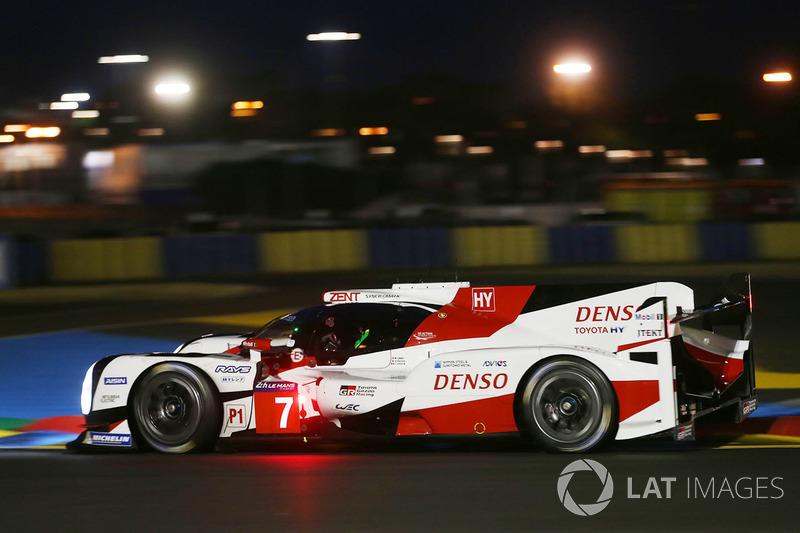 1. LMP1: #7 Toyota TS050 Hybrid