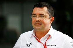 Eric Boullier, Racing directeur, McLaren