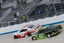Cole Custer, Stewart-Haas Racing Ford Ryan Blaney, Team Penske Ford
