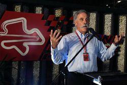 Chase Carey, Director Ejecutivo y Presidente Ejecutivo de la Formula One Group en la Petronas BBQ