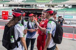 Ferrari engineer talks on the F1 in Schools garage tour