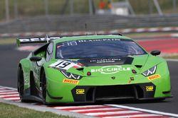 #19 GRT Grasser Racing Team Lamborghini Huracan GT3: Raffaele Giammaria, Ezequiel Perez Companc