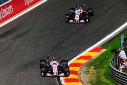 Эстебан Окон и Серхио Перес, Sahara Force India F1 VJM10