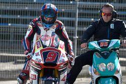 Jorge Navarro, Federal Oil Gresini Moto2, break down