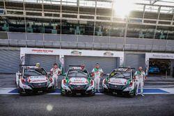 Ryo Michigami, Honda Racing Team JAS, Honda Civic WTCC ; Norbert Michelisz, Honda Racing Team JAS, H