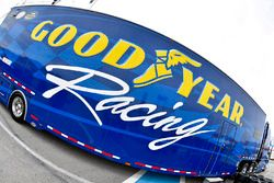 Goodyear Racing hauler