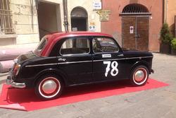 Fiat 1100, prima auto da corsa di Bandini