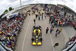 Sage Karam, Dreyer & Reinbold Racing Chevrolet Gasoline Alley