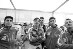 David Vidales y Pedro Hiltbrand con Tony Kart