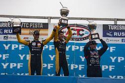 Podium, Facundo Ardusso, Renault Sport Torino, Emiliano Spataro, Renault Sport Torino, Emanuel Moriatis, Martinez Competicion Ford