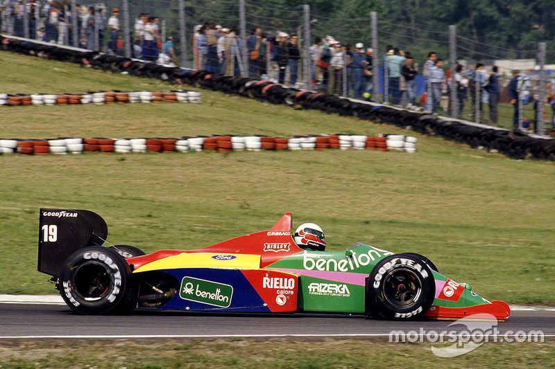 Тео Фаби, Benetton B187 Ford