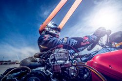 Carlos Sainz Jr., Scuderia Toro Rosso in training op de Karting Club Correcaminos in Recas