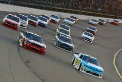 Daniel Hemric, Richard Childress Racing Chevrolet, Ben Kennedy, GMS Racing Chevrolet