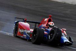 Alexander Rossi, Herta - Andretti Autosport Honda, incidente