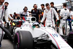 Felipe Massa, Williams, op de grid