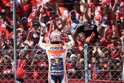 Celebración Marc Marquez, Repsol Honda Team