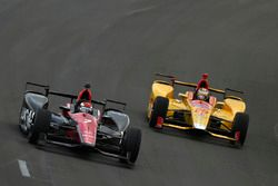 Mikhail Aleshin, Schmidt Peterson Motorsports Honda, Ryan Hunter-Reay, Andretti Autosport Honda