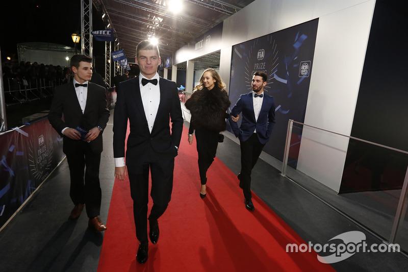 Max Verstappen, Red Bull Racing et Jose Maria Lopez, Citroën