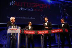 Felipe Massa, Mark Webber, McLaren CEO Zak Brown