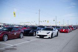 Ferrari for the parade