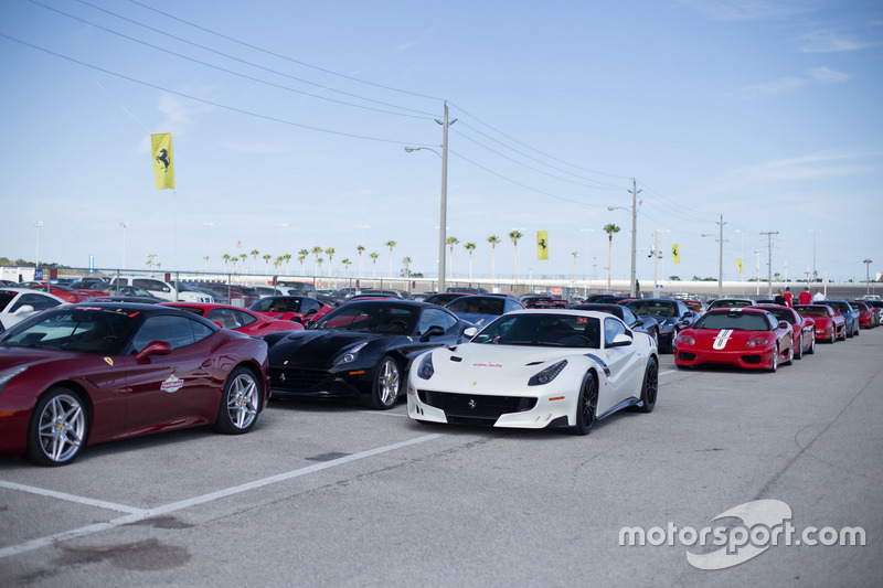 Les Ferrari pour la parade