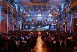 De prijsuitreiking van de FIA