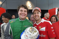 Peter Bukhtoyarov, Sebastian Vettel, Ferrari