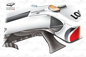 BAR 005 2003 chassis side fins