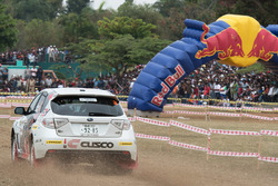 Mike Young, Malcolm Read, Subaru Impreza WRX, Cusco Racing