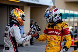 Artem Markelov, RUSSIAN TIME, GP2 Series vicekampioen Antonio Giovinazzi, PREMA Racing