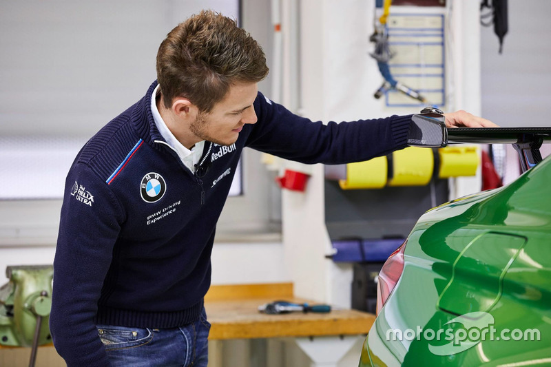 Marco Wittmann with his BMW M4