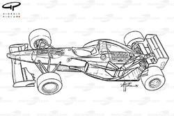 Vue d'ensemble de la Ferrari F310 (648)