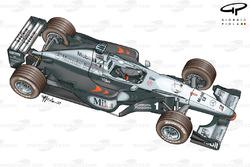 McLaren MP4-14 1999 overview