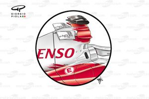 Toyota TF106 - 2 more airbox winglets added