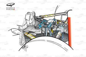 Détails de l'arrière de la Ferrari F2001 (652)
