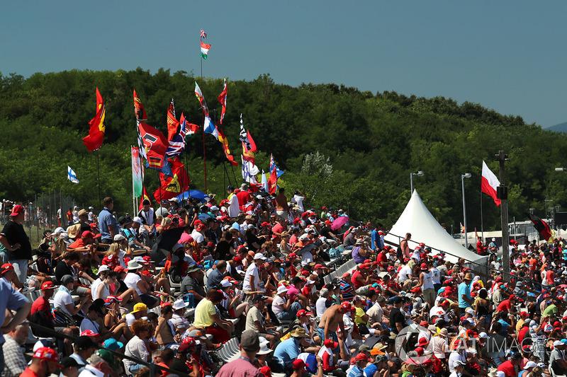 Fans und Flaggen