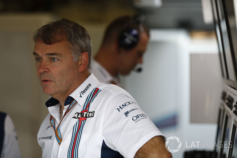 David Redding, Williams-Teammanager