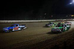 Stewart Friesen, Elaine Larsen Motorsports Chevrolet, John Hunter Nemechek, SWM-NEMCO Motorsports Ch