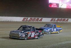 Noah Gragson, Kyle Busch Motorsports Toyota and Chase Briscoe, Brad Keselowski Racing Ford