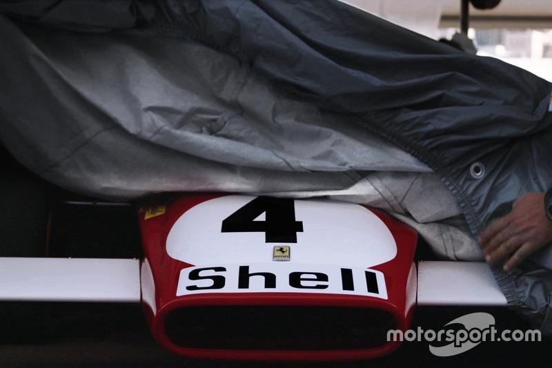 Ferrari 312B на першій сесії кваліфікації на Гран Прі історичних болідів Монте-Карло 2016 року