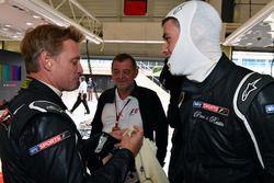 Paul Stoddart, Simon Lazenby, Sky TV F1 Experiences 2-Seater passagier en Paul di Resta, F1 Experien