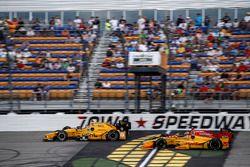 Graham Rahal, Rahal Letterman Lanigan Racing Honda Ryan Hunter-Reay, Andretti Autosport Honda
